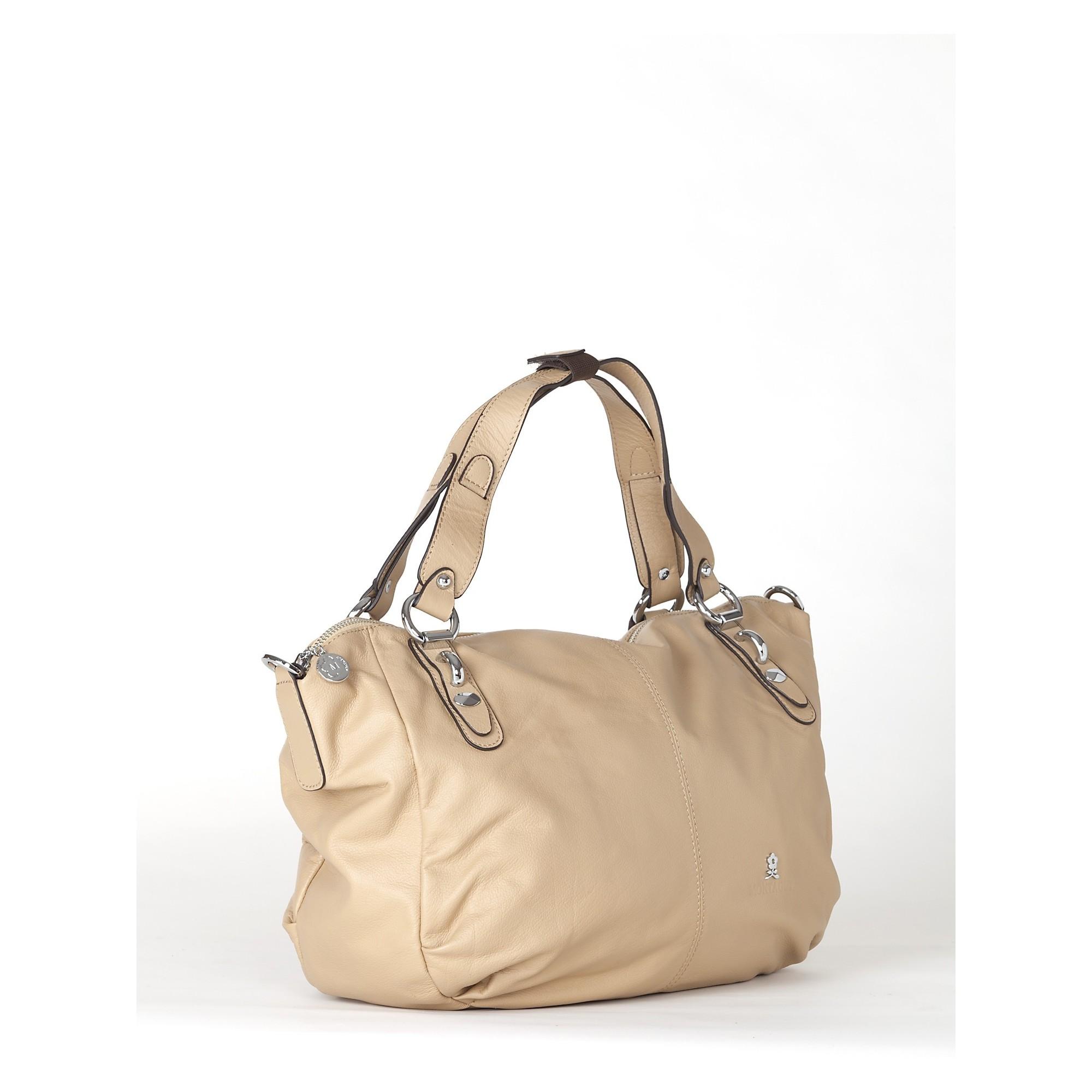 sac a main femme de couleur beige sac a main en cuir pour. Black Bedroom Furniture Sets. Home Design Ideas