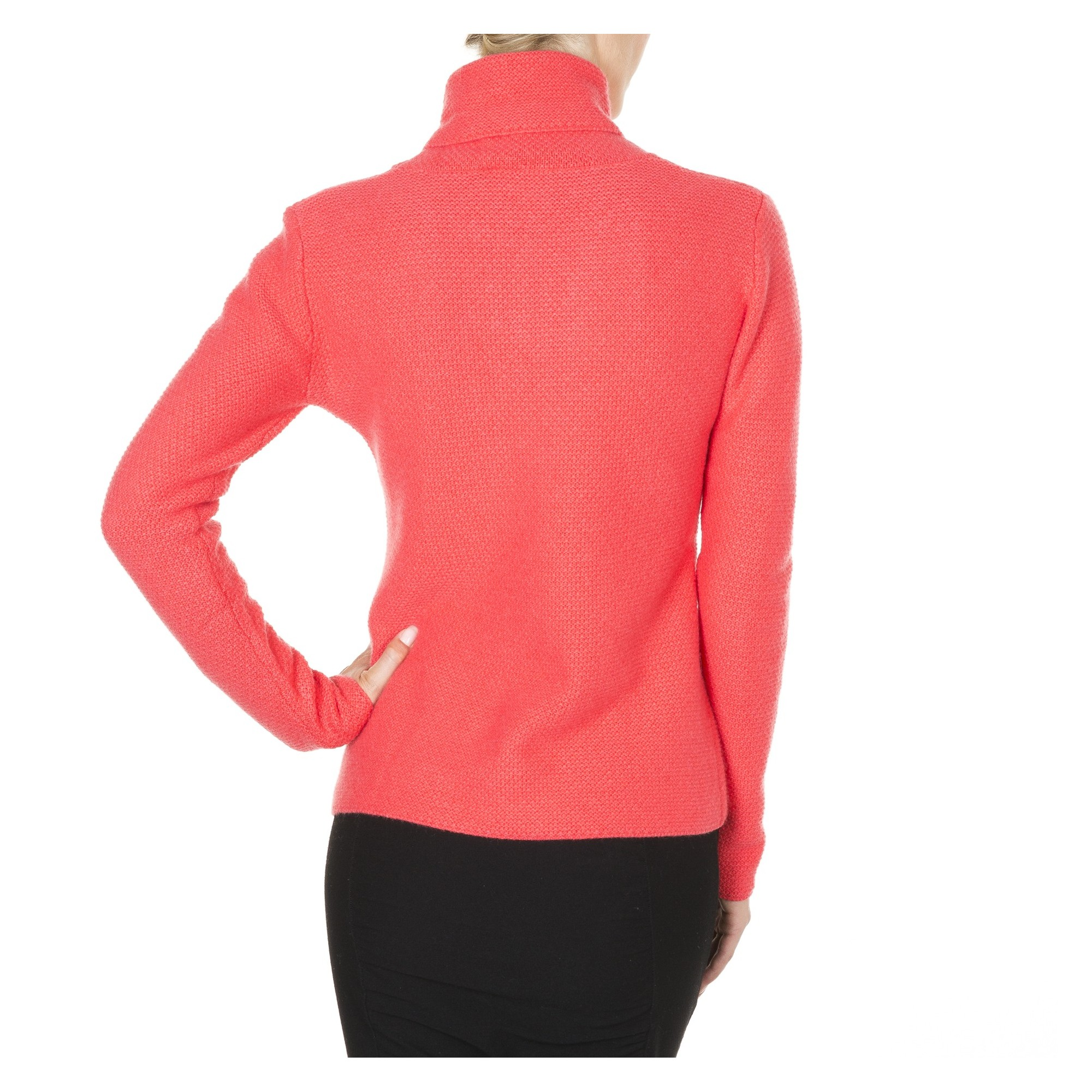 pull cachemire femme col montant