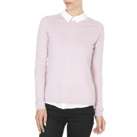 Pull col rond cachemire femme Electra