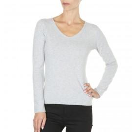 V collar sweater 100% cashmere Ellen