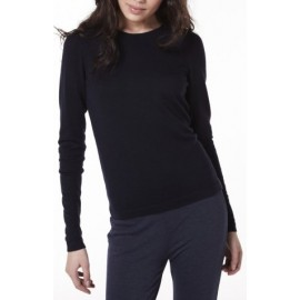 Pull col rond femme en laine Anne