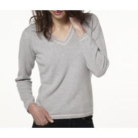 V-neck pullover made of cashmere Venise
