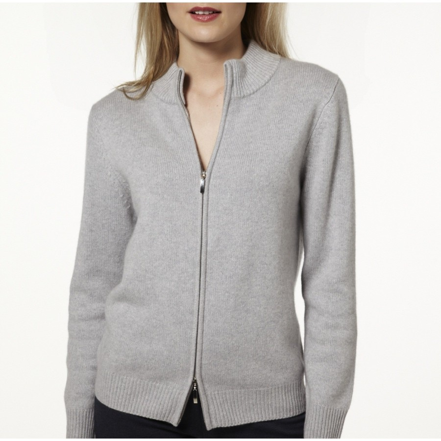 gilet femme cachemire gris english sweater vest. Black Bedroom Furniture Sets. Home Design Ideas