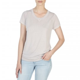 T-shirt  col rond manches courtes Florence