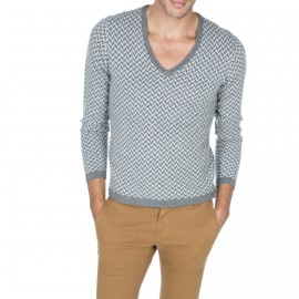 Pull col V cachemire homme Alonso
