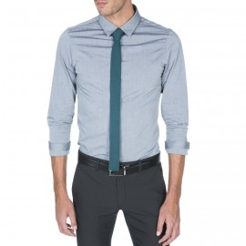 Cravate simple en laine Ghislain