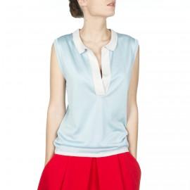 Short-sleeves t-shirt of fil Lumière Helga