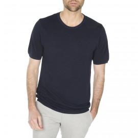 T-shirt homme en soie et lin Harrison