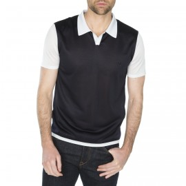 Man poloshirt made of Fil Lumière Hugo