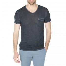 T-shirt en lin et coton pour homme Hélios