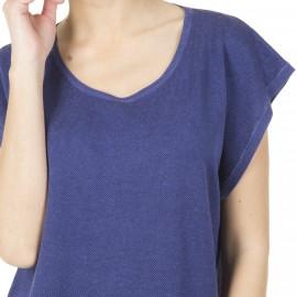 T-shirt femme sans manches soie lin Harmonie
