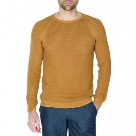 Pull col rond maille fantaisie Harry