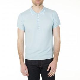 Fancy men's woven polo shirt Hilaire