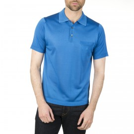 Poloshirt aus Fil Lumière Vadim