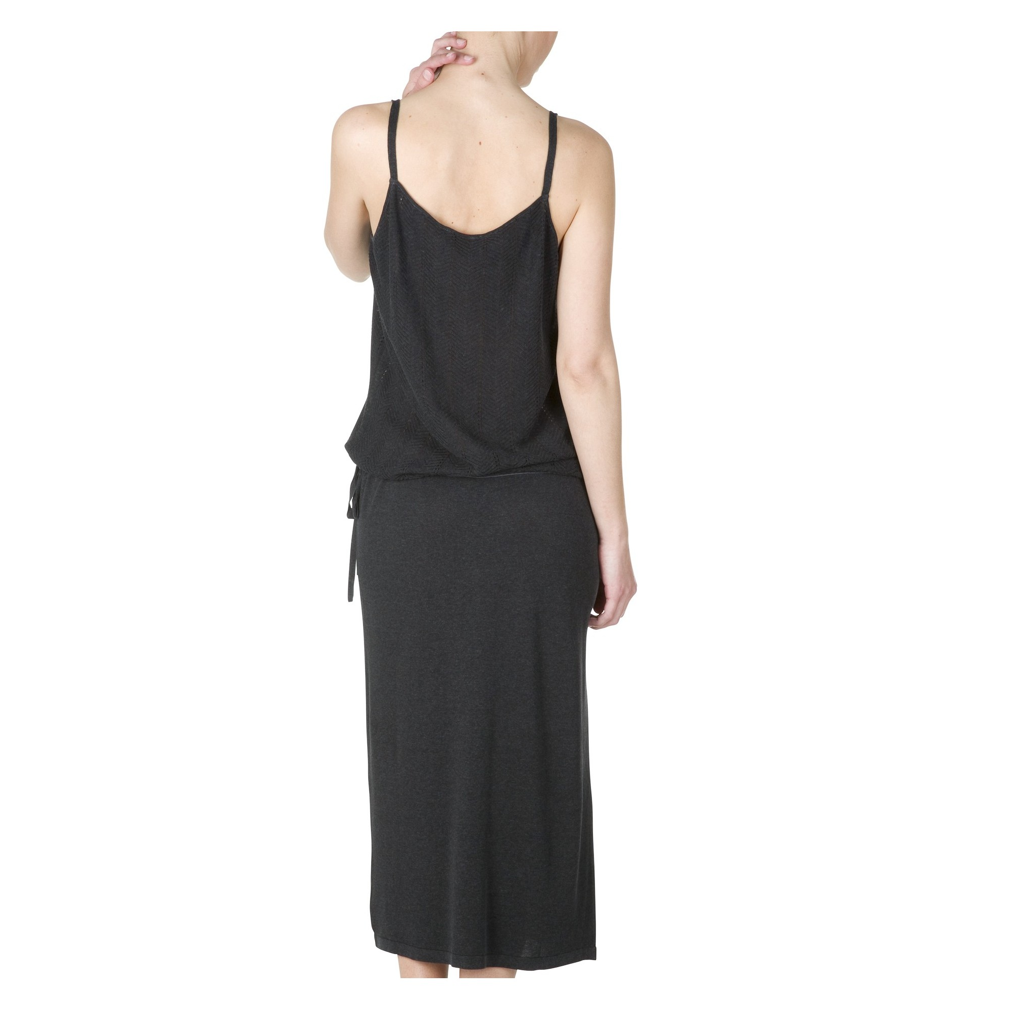 robe d 39 t soie et lin hasa. Black Bedroom Furniture Sets. Home Design Ideas