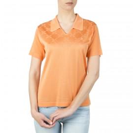 T-shirt femme motif graphique col polo Inna