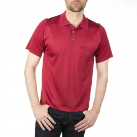 Man polo shirt with argyle design Ivan