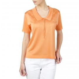 T-shirt fantaisie avec noeud en Fil Lumière Ivana