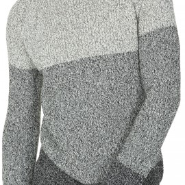 Crew neck sweater in cotton Léandre