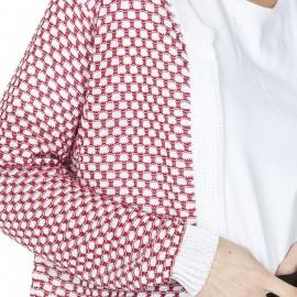 Gilet à motif en coton polyamide Ludivine