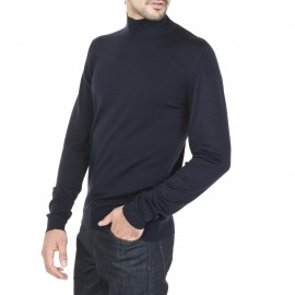 Sweater With Woolen Collar Marc