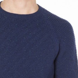 Crew Neck Cotton Sweater Martin