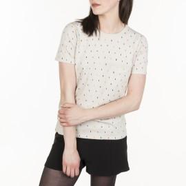 T-shirt à motif Marianne