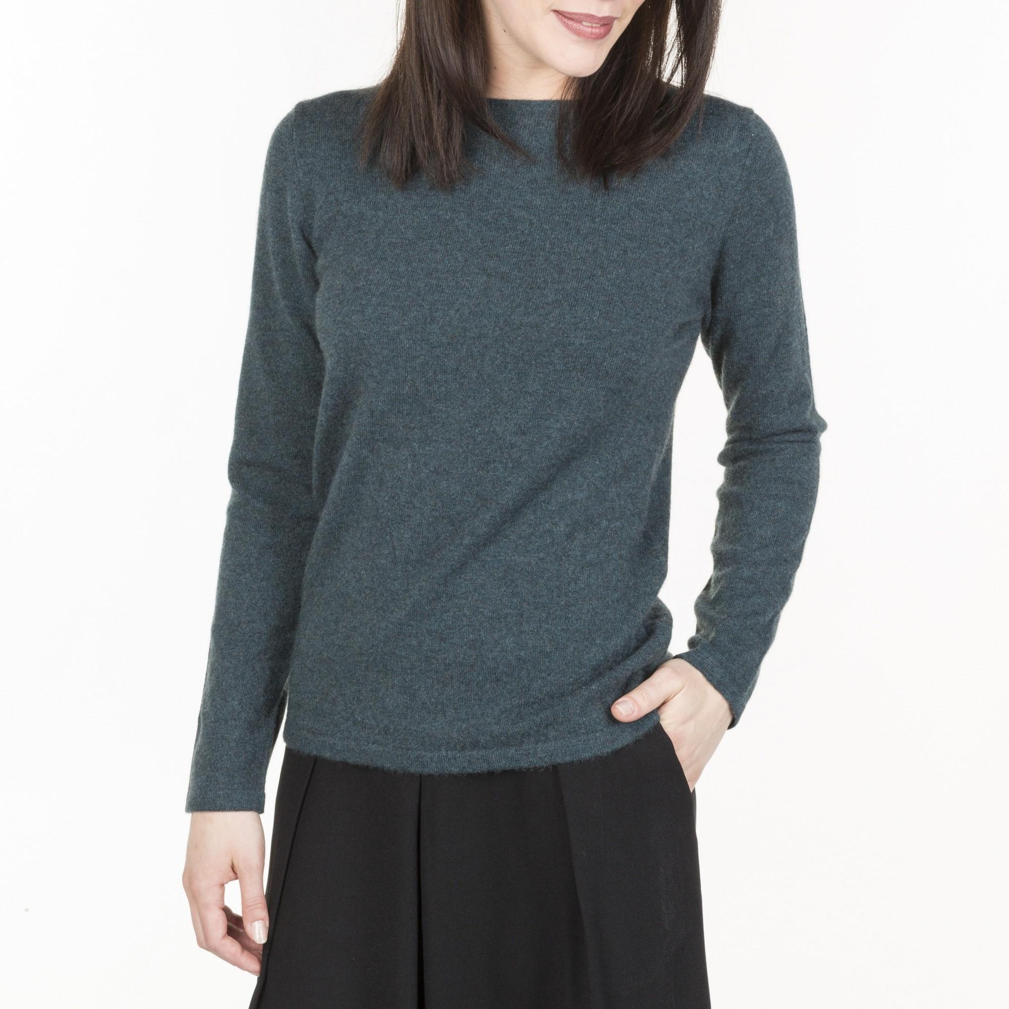 pullover femme ras de cou en cachemire de qualit. Black Bedroom Furniture Sets. Home Design Ideas