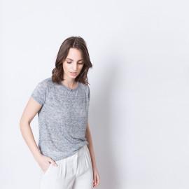 T-shirt maille fantaisie Arlette