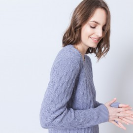 Pull coton femme manches longues Adel
