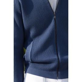 Gilet zippé en laine Blaise