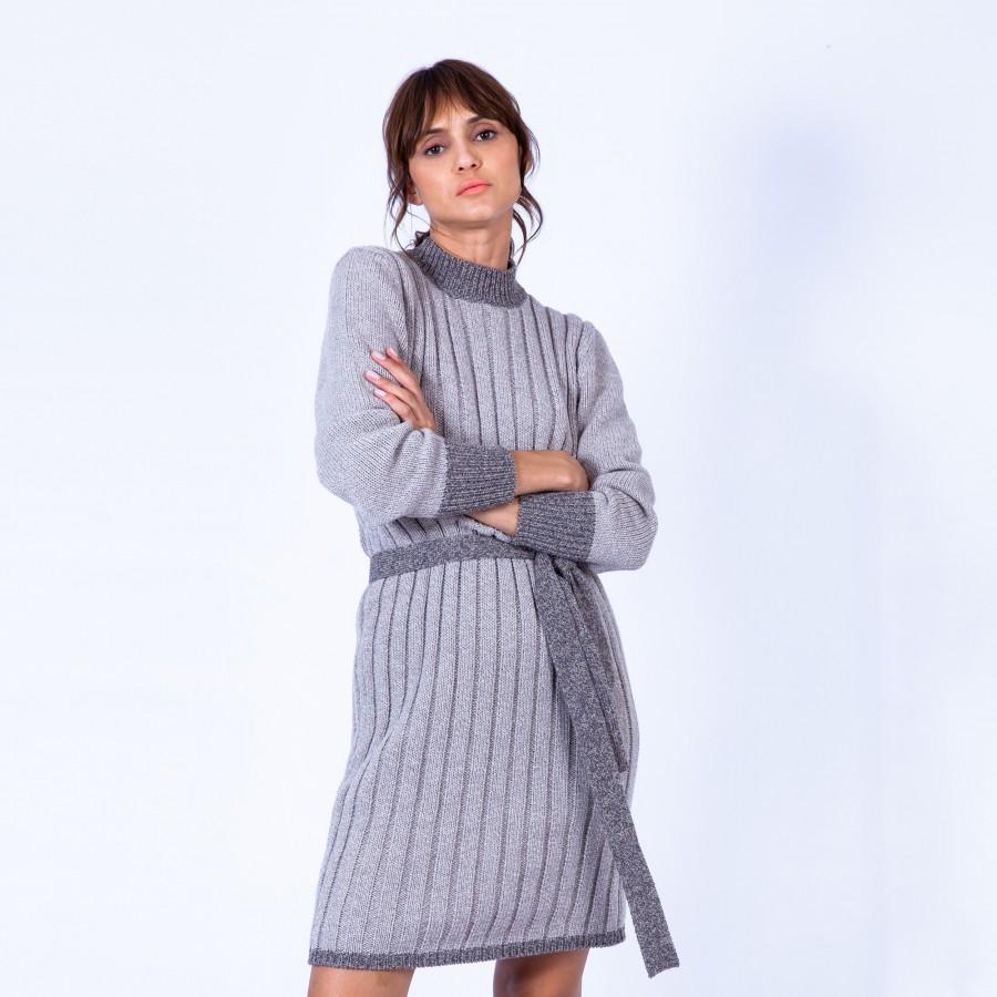 Robe pull laine et alpaga - Gracy