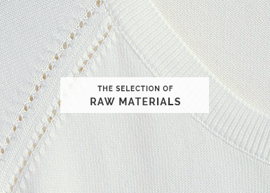 Discover the selection of the raw materials Montagut, specialist of fine stitch and cashmere since 1880