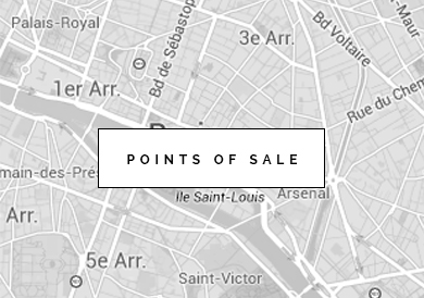 The points of sale of your French brand Montagut