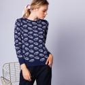 Patterned jumper - Esther