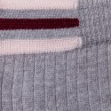 Jupe droite en laine côtelée - Etreinte 6350 glace - 81 gris pale