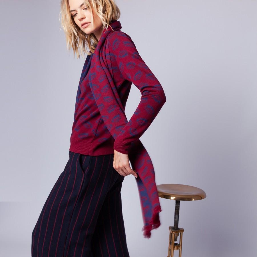 Echarpe en laine - Elaine
