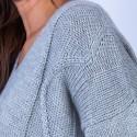 Alpaca and silk jumper – Hasina