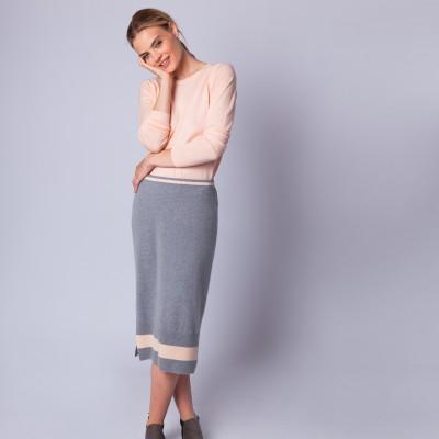 Pull col rond laine mérinos - Espiègle