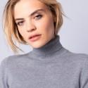 Turtleneck cashmere jumper - Eglyn