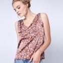 Silk vest-top by Maison Montagut & Maison Martin Morel - Giacomo