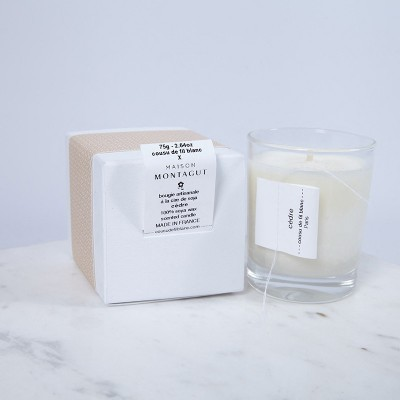Cashmere care candle - Cèdre