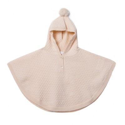 Poncho pour bébé en cachemire - Incognito