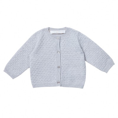 Baby's cashmere cardigan - Iris