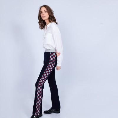 Woman trouser Montagut x Elise Chalmin