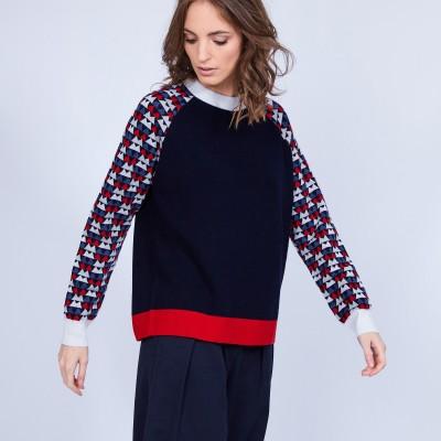 Pull en laine femme Montagut x Elise Chalmin