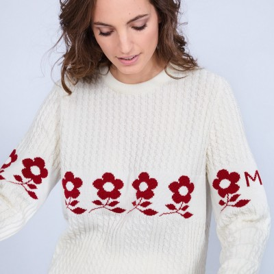 Christmas sweater Made in France - Noa