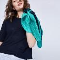 T-shirt ample col rond - Maika 6440 marine - 05 bleu marine