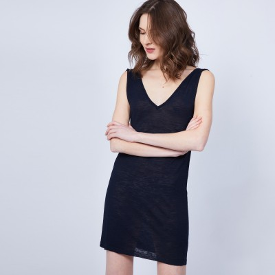 Robe col V - Jazz