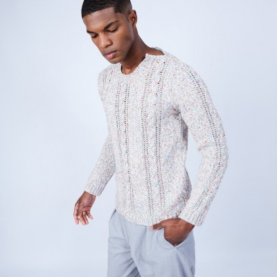 Luxury cable knit jumper - LIZIO